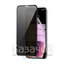 Защитное стекло 3D Antispyware для iPhone XR/11 Black