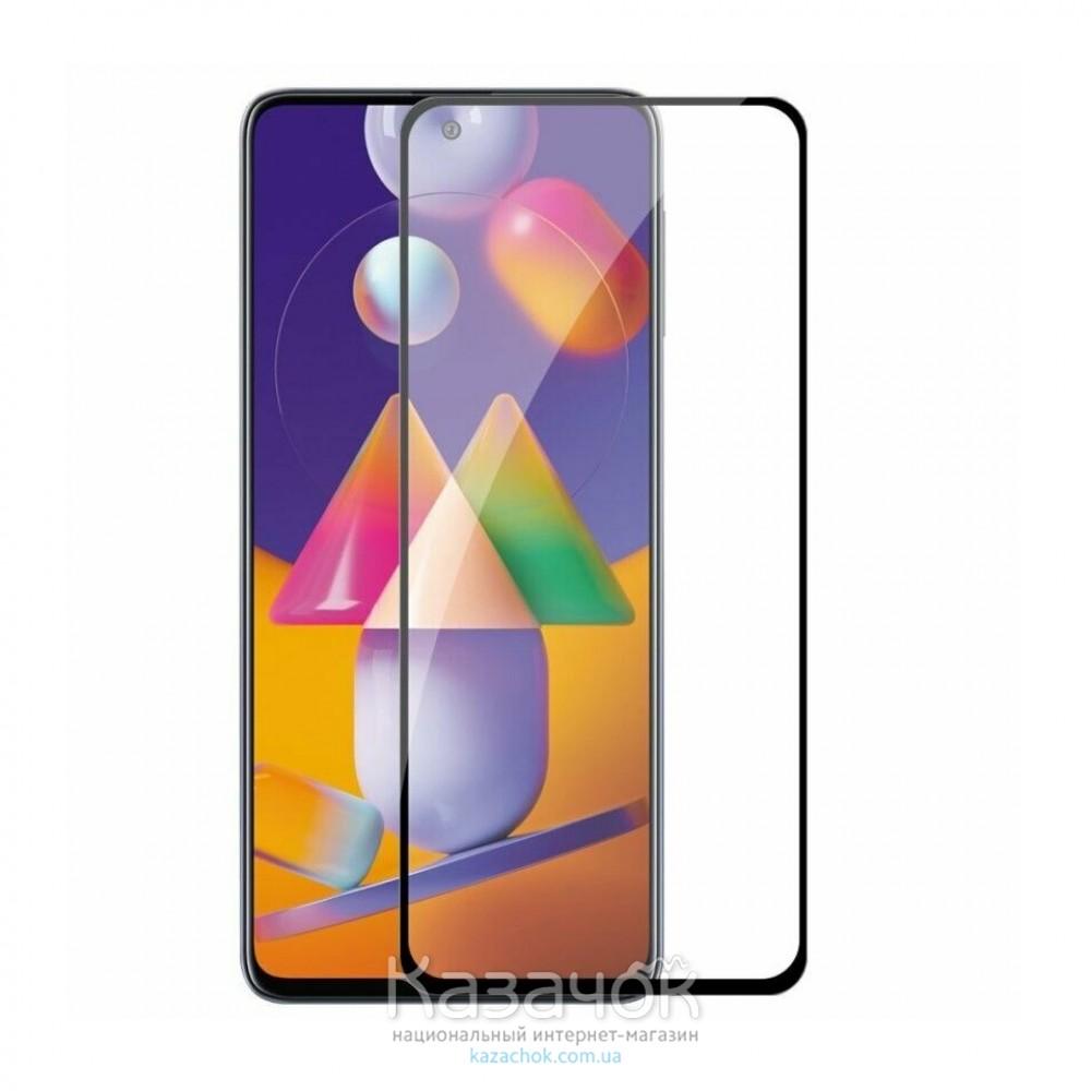 Защитное стекло 9D Ceramic для Samsung M31s/M317 2020 Black