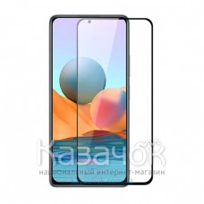 Защитное стекло Full Glue для Xiaomi Redmi Note 10 Black